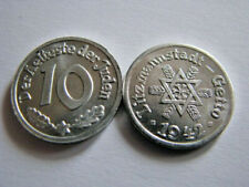 10 Pfennig 1942 Litzmannstadt Lodz Getto Der Aelteste der Juden