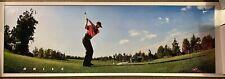 "Tiger Woods ""Drive"" #5534 1998 Vintage Original Nike Poster In wrapper 23""x72"""