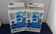 2x COMPETITION PRO ACCESSORY PACK - BLUE - NINTENDO 3DS BRAND NEW