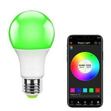 MagicLight WiFi Smart Light Bulb Dimmable Multicolor Wake Up Lights No Hub