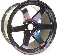 Gloss Purple-Blue Chameleon Black Pearl Powder Coat Paint 1 Lb/ 450 g