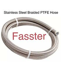 -8 AN PTFE Hose W/ Stainless Steel Hose With PTFE Inner Core E85
