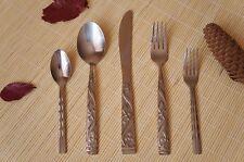 Titanium cutlery Knives Spoon Fork Titan Flatware Set Mixed 5pcs
