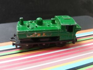 Matchbox ferrocarril Lesney nº 24 shunter d 1496 Lok locomotora tren railway train