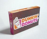 "DUNKIN DONUTS Pack FRIDGE MAGNET Novelty Indonesia 3D 2.25"" Long"