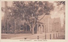 OLD POST CARD USA ETATS-UNIS united states NEW HAVEN, CONN. yale university wri.