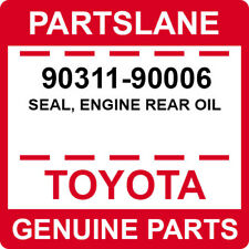 90311-90006 Toyota OEM Genuine SEAL, ENGINE REAR OIL
