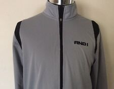 And1 Men's Basketball Full Zip Jacket Size M