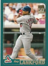 2001 Topps Employee #588 Ray Lankford, St. Louis Cardinals