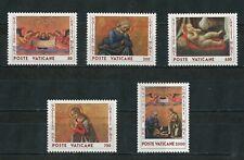 Vaticano 1990 - Natale - 5 Francobolli - NUOVO - MNH**