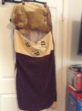 Children's Kids Plush Fur Sleeping Bag New Bear Pillow