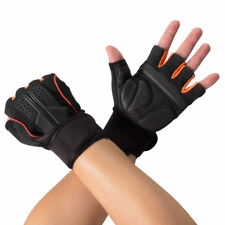 PEGGIE Men's Anti-skid Guantes Half Gloves Gym Fitness Protective Exercise