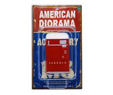 """Red Soda Vending Machine American Diorama 1:18 3.75"""" Accessory w Coke Decal"""