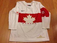 TEAM CANADA NIKE REPLICA IIHF 2014 SOCHI OLYMPICS WHITE HOCKEY JERSEY MEDIUM NWT