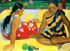 Whats News - Paul Gauguin A2 High Quality Canvas Art Print