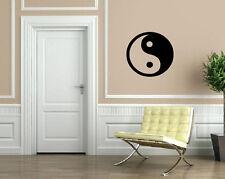 Yin Yang Philosophy Circle Male Female Wall Decor Mural Vinyl Art Sticker M604