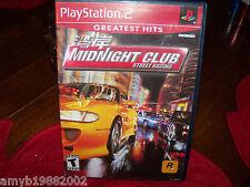 Midnight Club: Street Racing (PlayStation 2, 2000) EUC