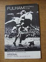 05/12/1964 Fulham v Arsenal  (Light Fold To Corner)