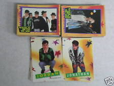 . 1989 Topps NEW KIDS ON THE BLOCK Series 1 88 cards & 11 stickers