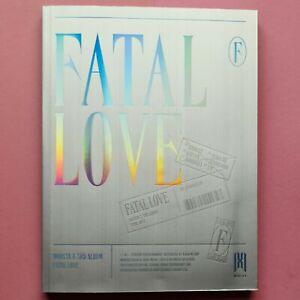 Monsta X Fatal Love Version 04 + Minhyuk Photocard + Minhyuk POB (Unsealed)
