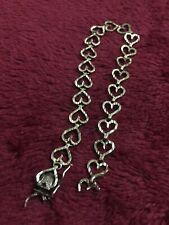 Yellow Gold 10 Kt Heart Shape Bracelet Scrap Or Wear