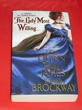 msm JULIA QUINN / ELOISA JAMES / CONNIE BROCKWAY ~ THE LADY MOST WILLING