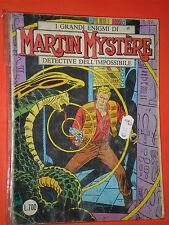 MARTIN MYSTERE-ORIGINALE N°1 b-in 1°EDIZIONE GRANDI ENIGMI-DETECTIVE IMPOSSIBILE