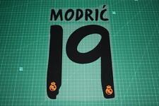 Real Madrid 13/14 #19 MODRIC Homekit / Awaykit Nameset Printing
