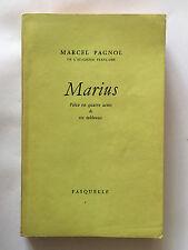 MARIUS 1962 MARCEL PAGNOL THEATRE