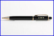 1950er MONTBLANC PIX 372  Druck Bleistift Schwarz & Gold 1.18mm G W H