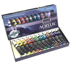 Acrylic Paints Large Artist Set of 12 Professional Paint Tubes 12 x 12 ml