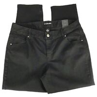 Lane Bryant Womens Jeans Size 20 Black Skinny Stretch Denim Casual