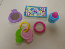 FISHER PRICE  LAUGH N LEARN  PURSE VANITY REPLACEMENT ITEMS  EUC