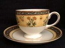 India by Wedgwood - Cup and Saucer Set - England - Excellent & Minty!