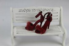 "Tonner 18.5"" New Vinyl/Resin Evangeline Ghastly Fashion Pumps doll Shoes (A-1)"