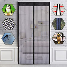 Magnetic Screen Door Net Anti Mosquito Magic Mesh Hands-Free Bug Curtain Patio