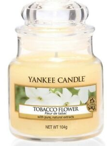 Yankee Candle Small Jars Tobacco Flower - NEW - Same Day Dispatch- Fast Delivery
