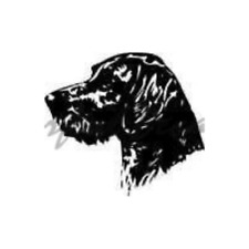 German Wirehaired Pointer Decal Gwp – 4006