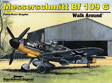 20019a/ Squadron Signal - Walk Around 43 - Messerschmitt Bf-109G - TOPP HEFT