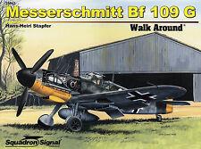 20019/ Squadron Signal - Walk Around 43 - Messerschmitt Bf-109G - TOPP HEFT