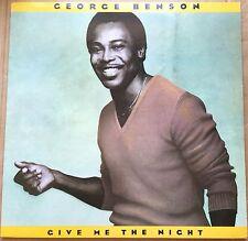 GEORGE BENSON Give Me The Night RARE ORIGINAL STRAWBERRY CUT W.Bros.vinyl LP.Ex!