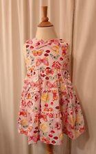 Blueberi Boulevard Pink GIRL'S Floral Sleeveless Dress Size 5