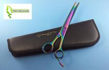 """Pet Dog Grooming Scissors Shears 10"""" Professional Japanese Stainless STRAIGHT"""