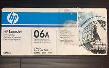 NEW Genuine HP C3906A  06A LaserJet Toner Black Cartridge 5L 6L 3100