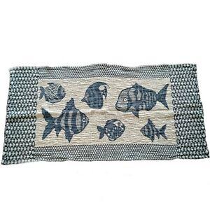 Linen towel for bath, sea. Two-way weaving. European linen
