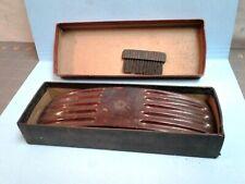Vintage Mens Grooming Electro Static Cleaner Bakelite with Brush Original Box