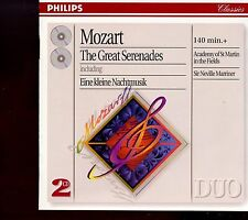 Mozart / The Great Serenades - 2CD  - MINT