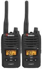 UNIDEN UH820S-2 2W UHF TWIN DELUXE HANDHELD RADIO  80 CHANNELS+Bonus Torch