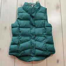 womens L old navy winter vest teal