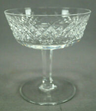 Vintage Signed Waterford Alana Cut Crystal Champagne / Sherbet Glass